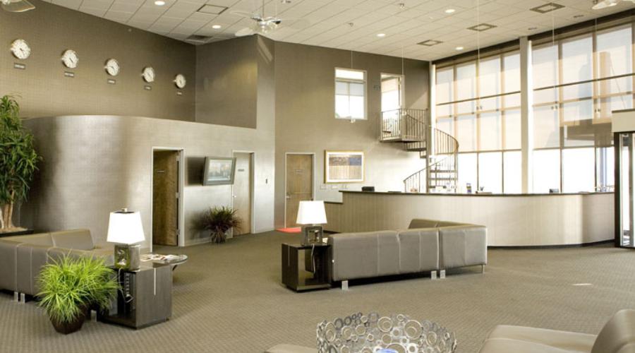 Jackson Jet Center Interior