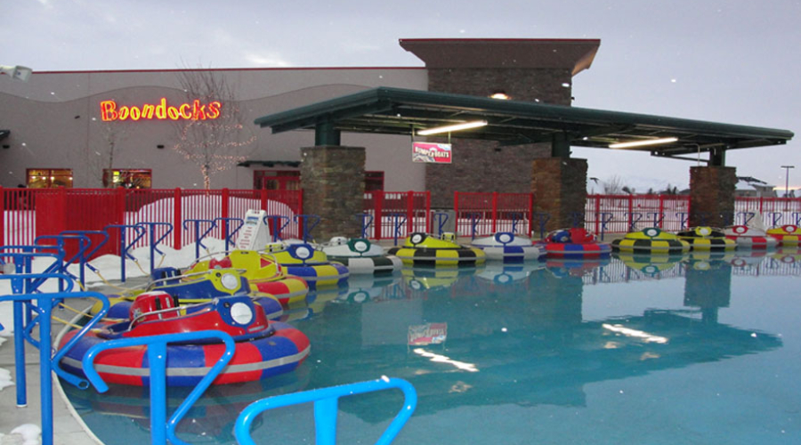 Boondocks Family Fun Center Bumper Boats