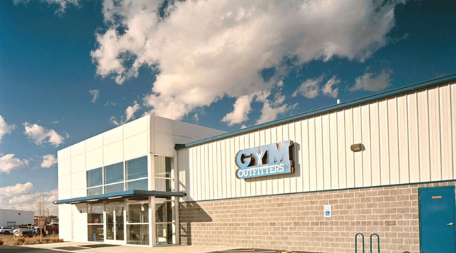 Gym Outfitters Exterior, Boise, ID