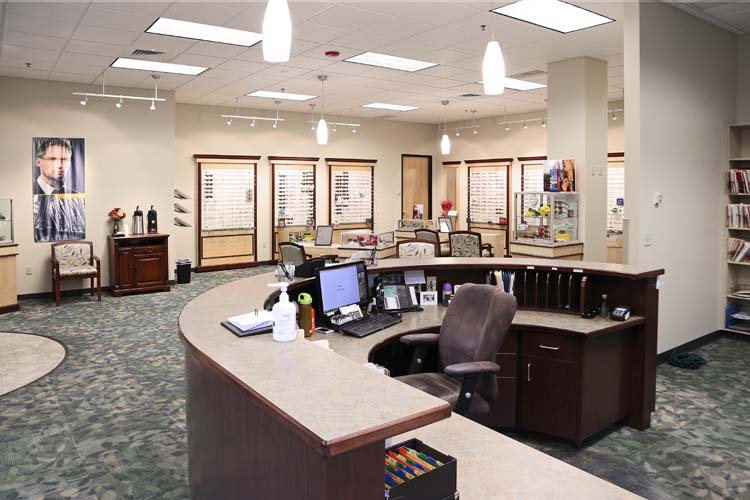 Intermountain Eye Center Office Interior, Boise, ID