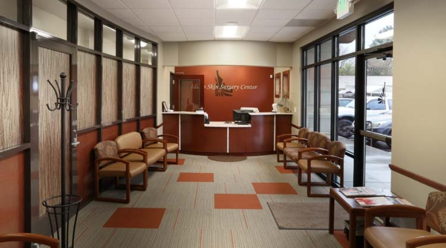 Idaho Skin Surgery Lobby, Boise, ID