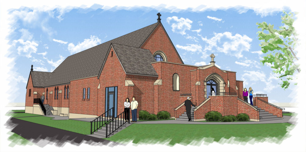 Blessed Sacrament Church Entry Addition & Remodel