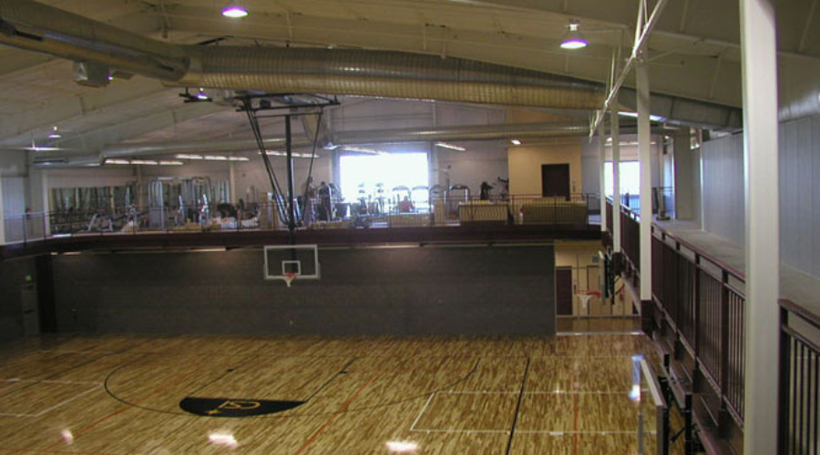Jerome Recreation Center Basketball Court, Interior